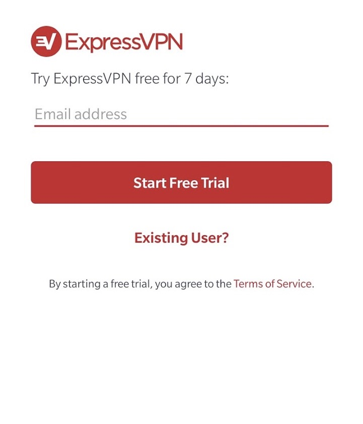 ExpressVPN free trial without credit card
