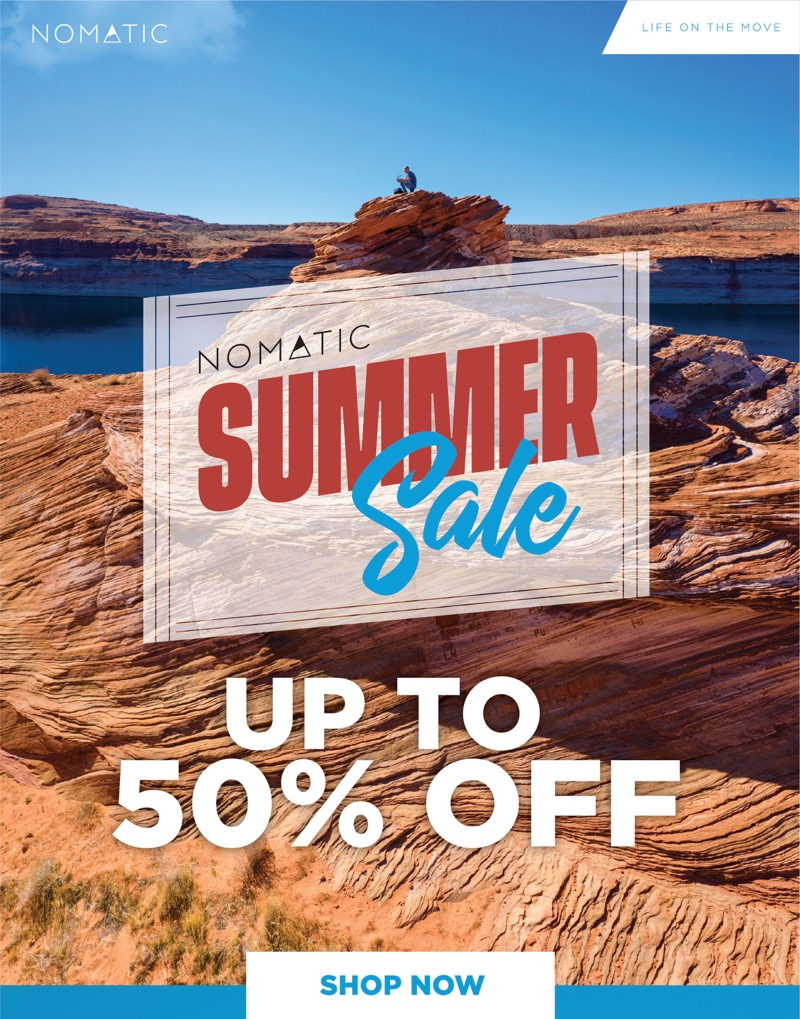 Nomatic summer sale