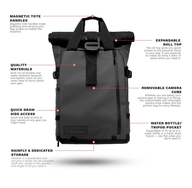Wandrd Prvke camera Backpack