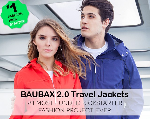 baubax 2 travel jacket review