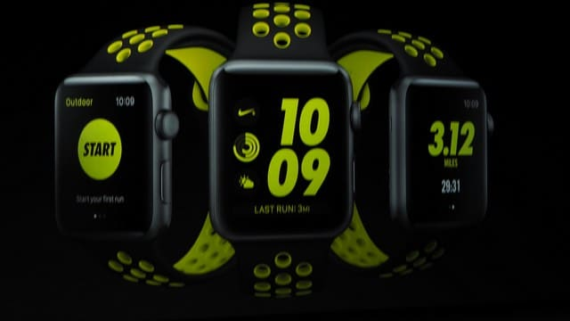 Apple series 3 Nike+ Edition